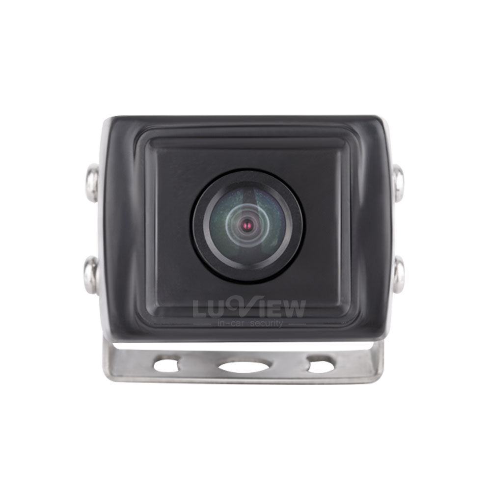 Rear view car camera with stainless steel bracket